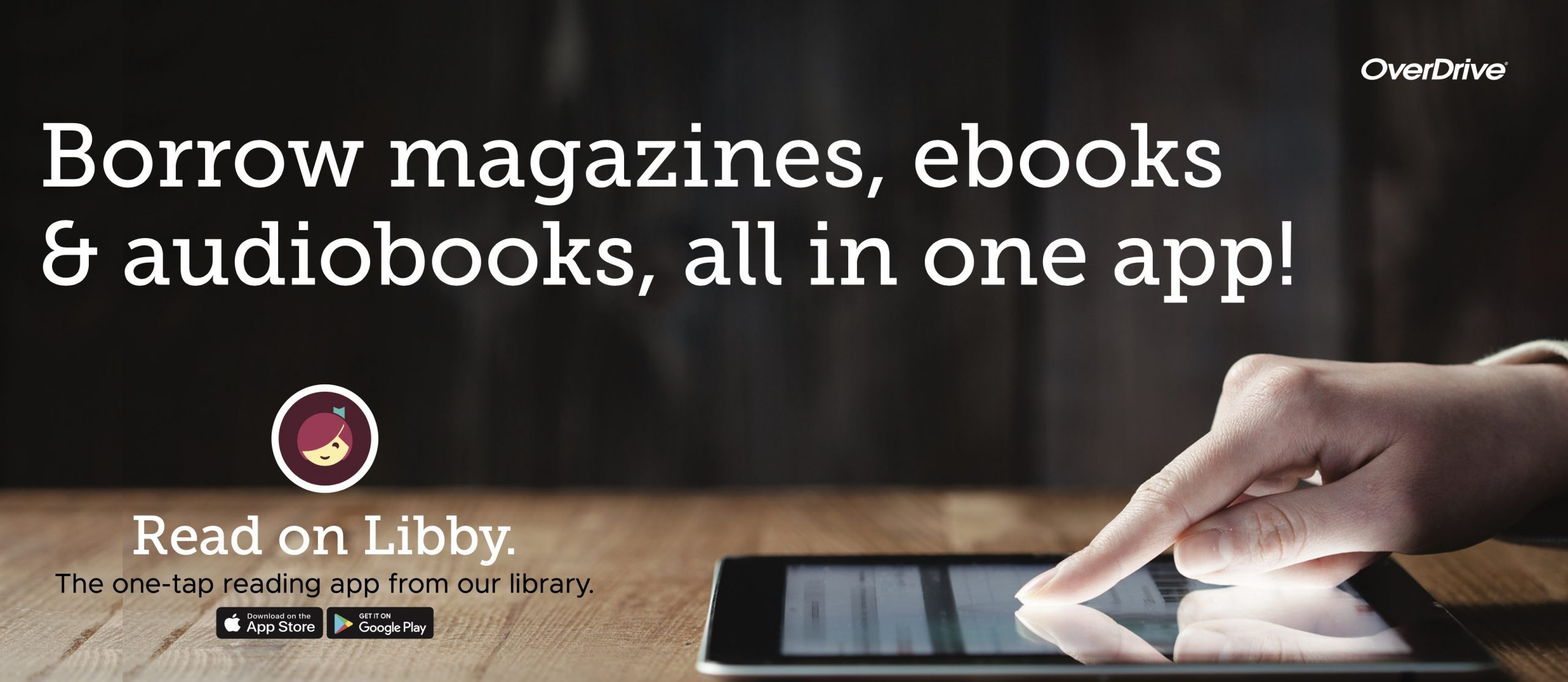 Borrow magazines, ebooks, and audiobooks, all in one app with Libby!